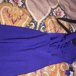 Mermaid dress, Royal Blue